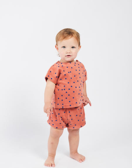 Baby T-Shirt Dots Terry von Bobo Choses