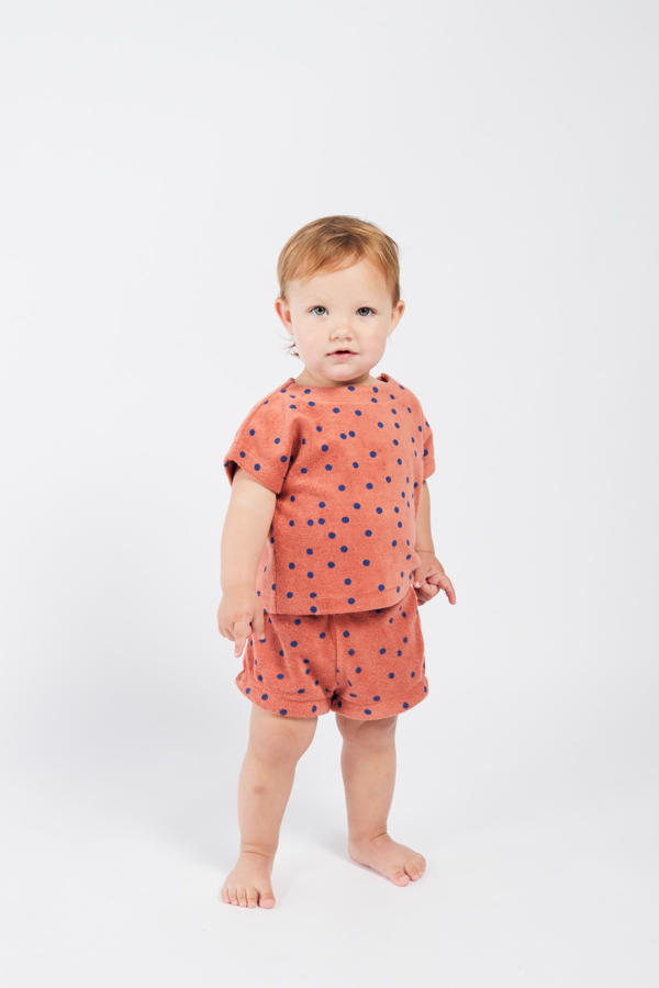 Baby Shorts Terry Dots von Bobo Choses