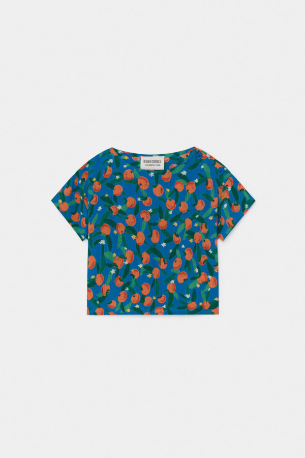 Bluse Baby All Over Oranges von Bobo Choses