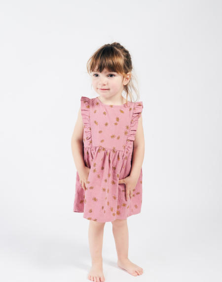 Dress Baby All Over Daisy von Bobo Choses