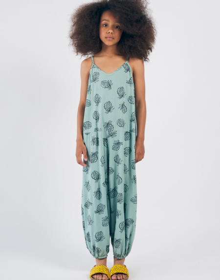 Overall Kids All Over Pineapple von Bobo Choses