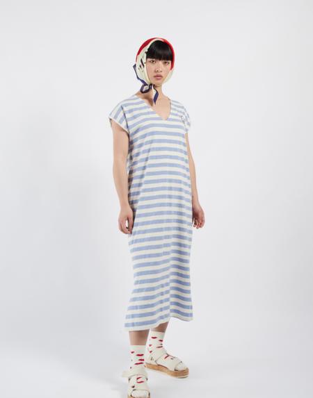 Dress Striped Adultes von Bobo Choses
