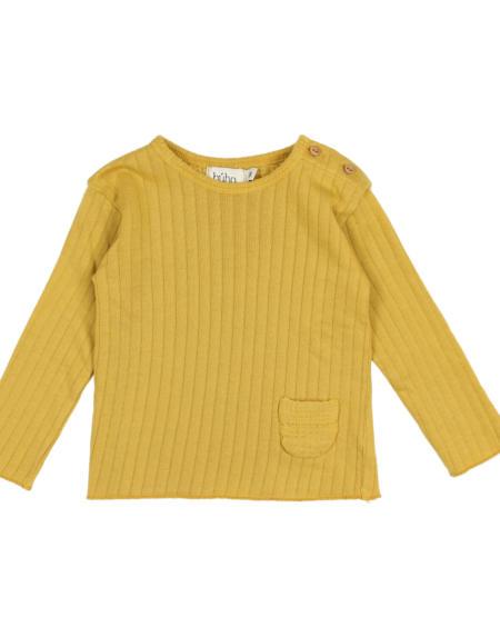 T-Shirt Longsleeve Baby Ochre von Buho