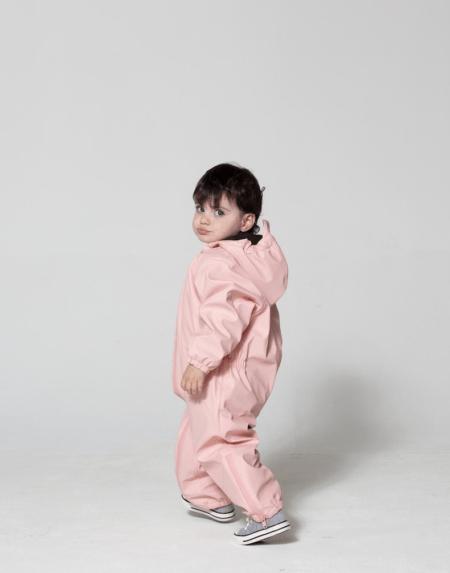 Regenoverall Kids Roger Rabbit Powder Pink von Go Soaky