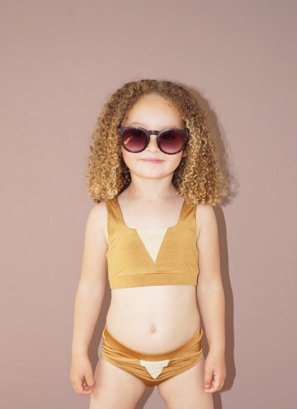 Bikini Holly Kids golden von Knast