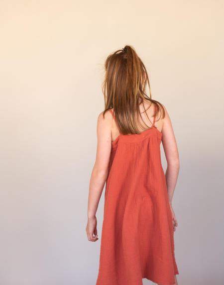 Sommerkleid Kids Orange von Longlivethequeen