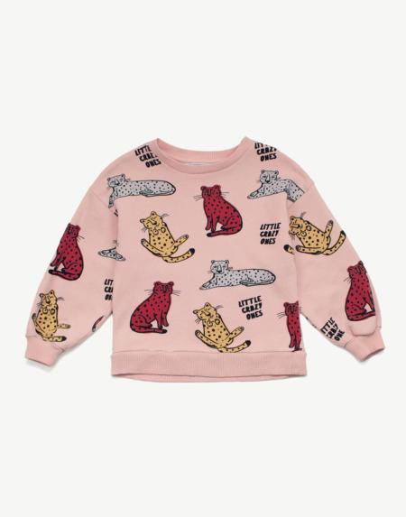 Pullover Kids Leo All Over von Les Petits Vandales