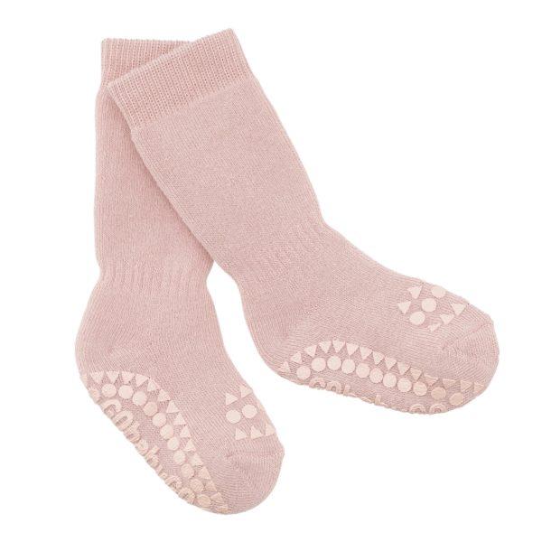 Anti Rutsch Socken Dusty Rose von Go Baby Go