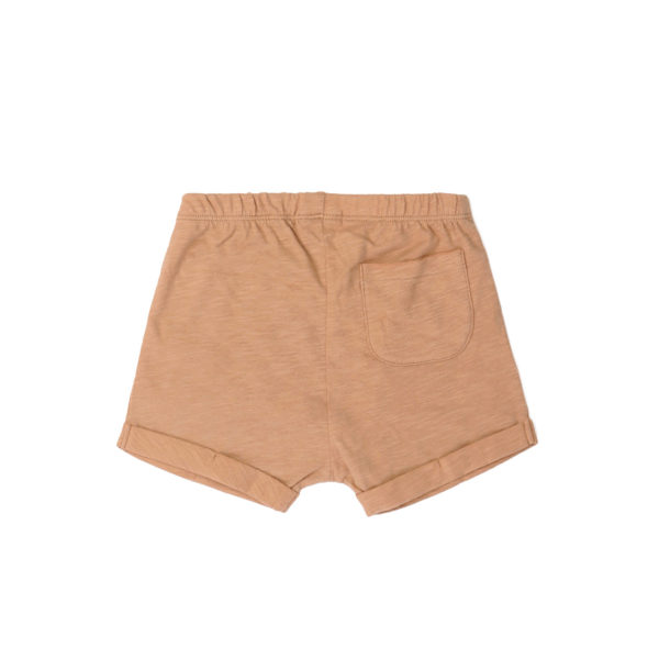 Shorts Kids Striped Frotté Cognac von Phil & Phae