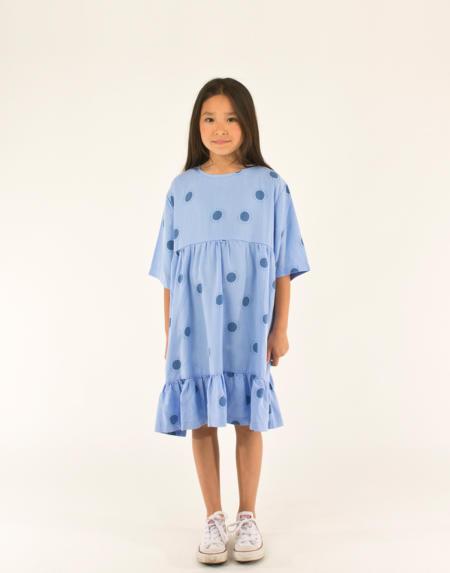 Kleid Sun Belled cerulean blue/summer navy von Tinycottons