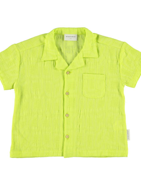 Shirt Kids Hawaii Lime von PiuPiuchick