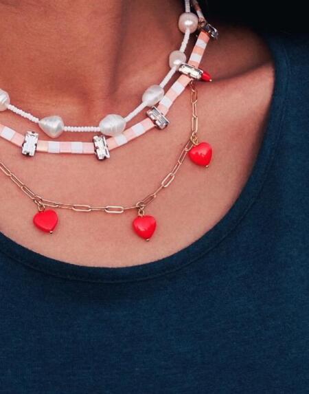 Heart Necklace Jewellery von Coralie Reiter