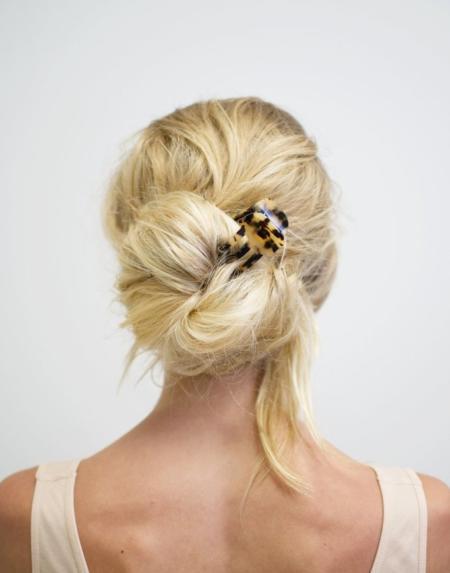 Haar Klammer Mini Blond Tortoise von Machete