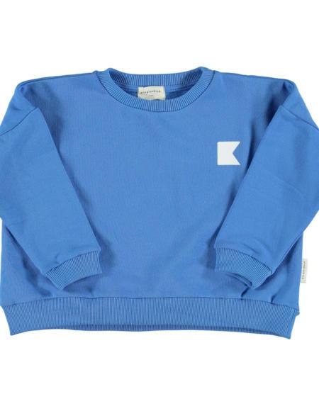 Pullover Kids Sweatshirt Blue von PiuPiuchick