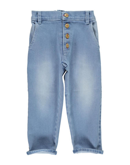 Jeans Kids Unisex Washed Blue von PiuPiuchick