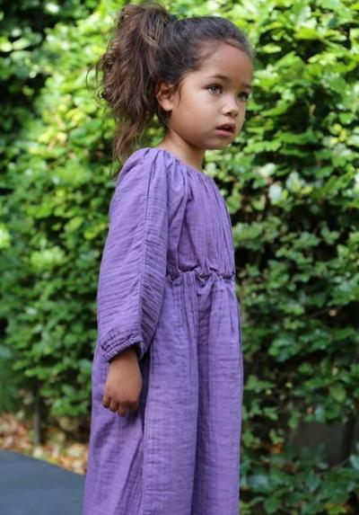 Kleid Kids Emily Purple Rain von Daily Brat