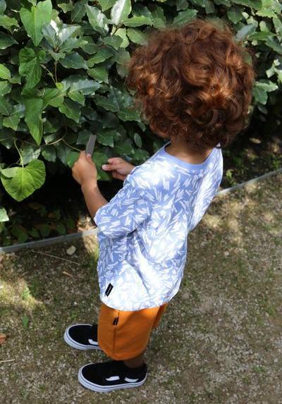 T-Shirt Kids Flinn serenity blue von Daily Brat