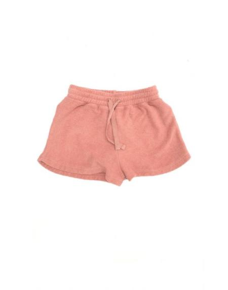 Shorts Kids Frottee Altrosa von Longlivethequeen
