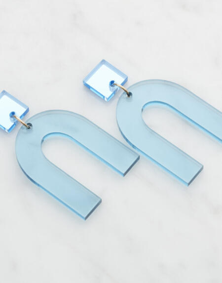 Cindy Light Blue & Light Blue Mirror von Vanto