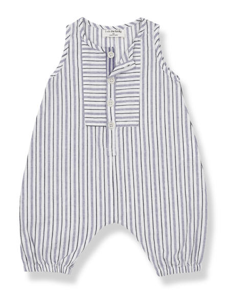 Hosen Baggy Baby Sammy Blue Notte von 1+ in the Family
