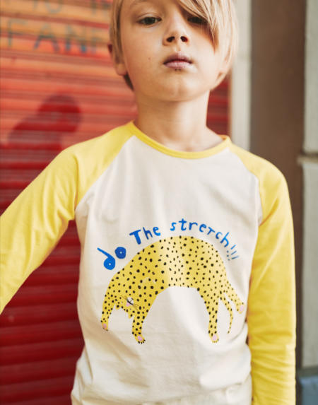 Shirt Longsleeves Kids yellow von Noé & Zoë