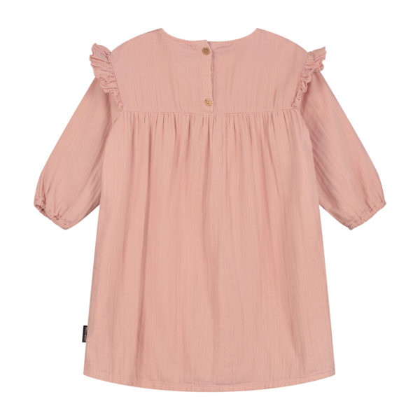 Kleid Kids Olivia Dusty Pink von Daily Brat