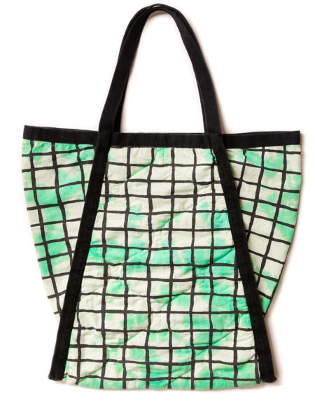 Judoka Bag Green Grid von Noé & Zoë
