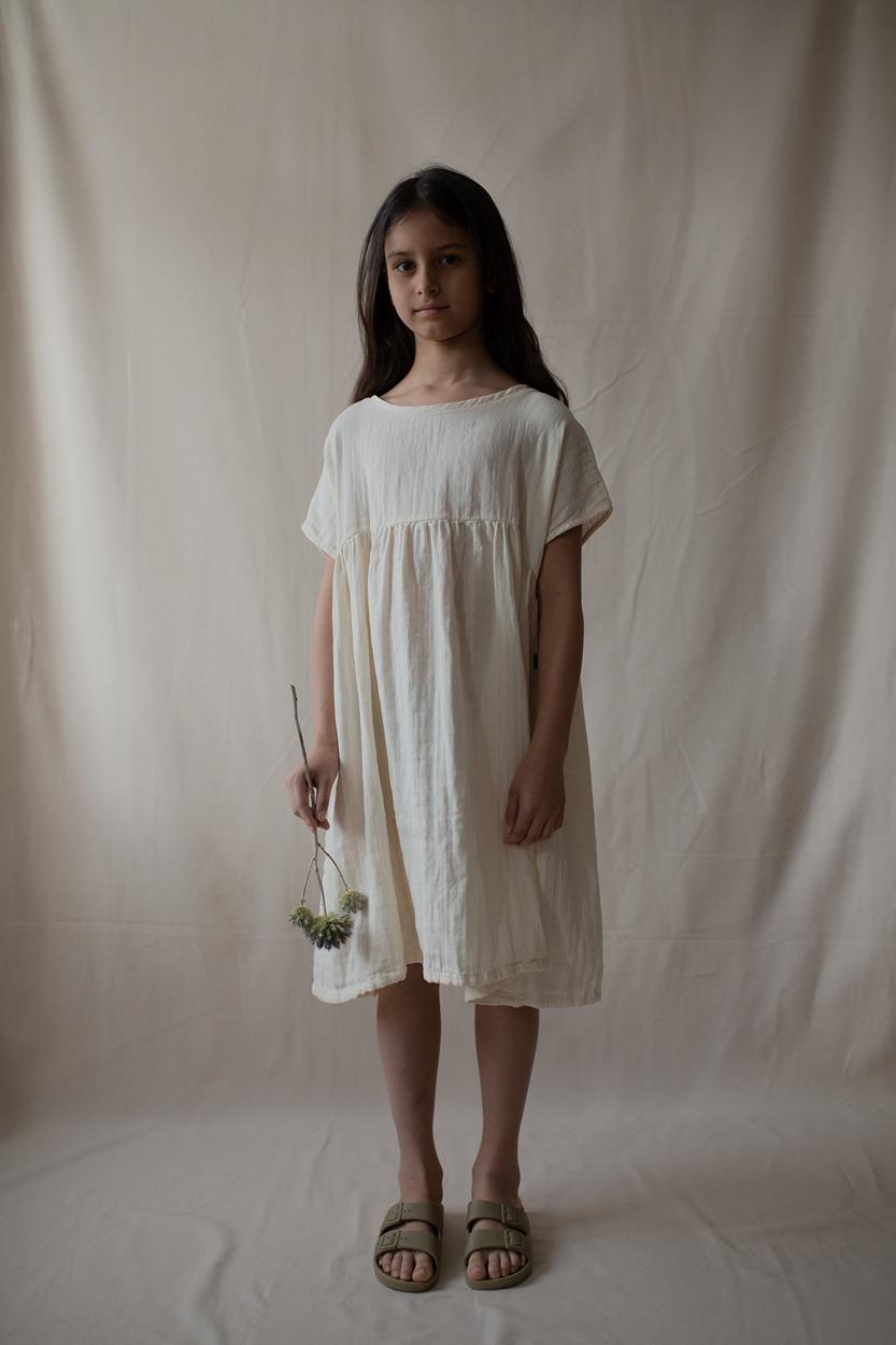 kleid kids ivory