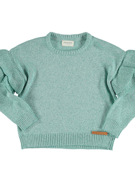 Top with straps Kids Lime von PiuPiuchick