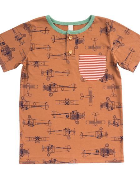 T-Shirt Kids Flugzeug von Wil