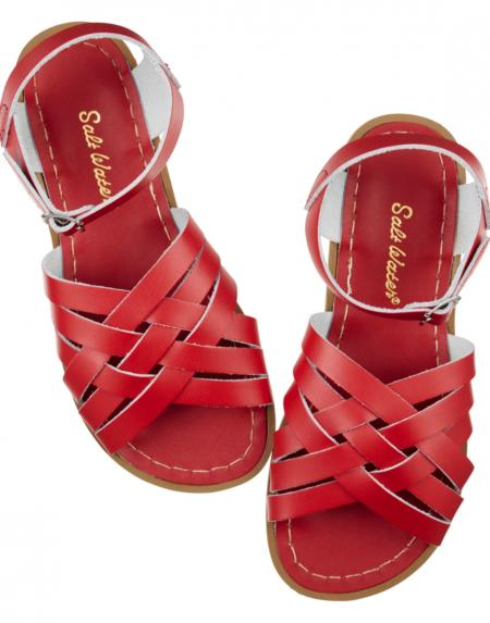 Retro Adult Red von Salt Water Sandalen