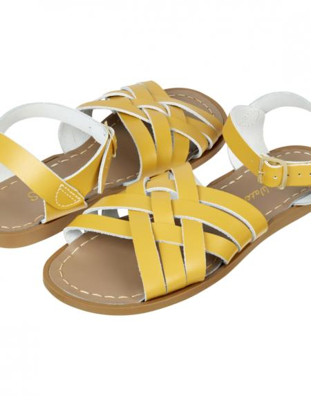 Retro Adult Mustard von Salt Water Sandalen