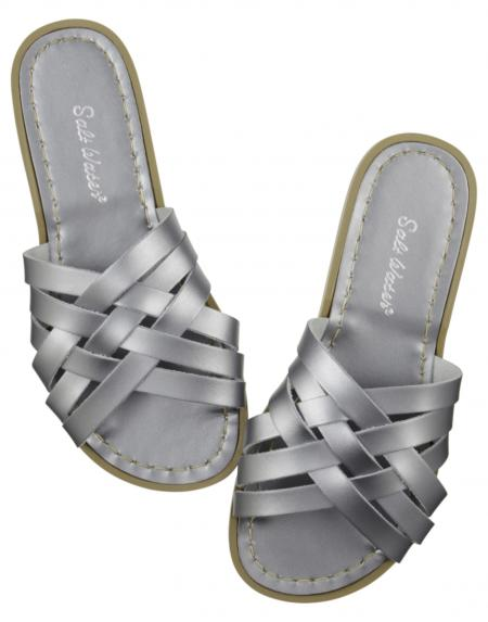 Retro Slide Adult Pewter von Salt Water Sandalen