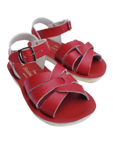 Swimmer Kids Rot von Salt Water Sandalen