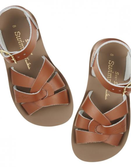 Swimmer Kids Tan von Salt Water Sandalen