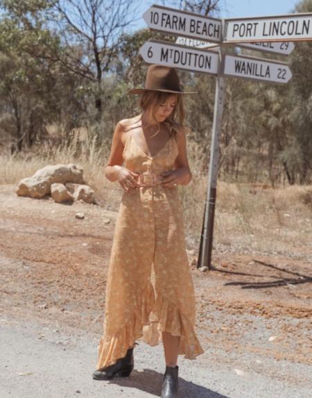 Dress Acacia Maxi von The Lost Tribe