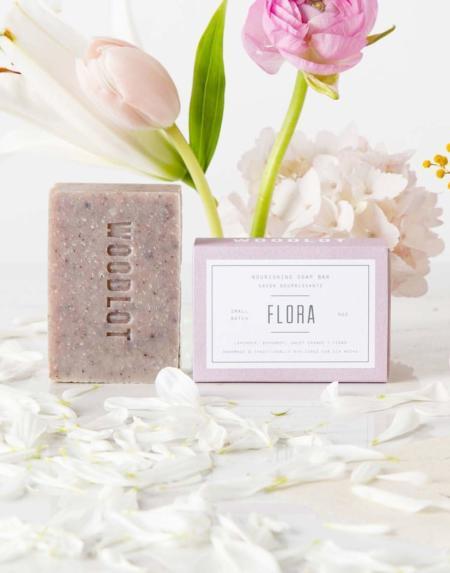 Seife Flora von Woodlot