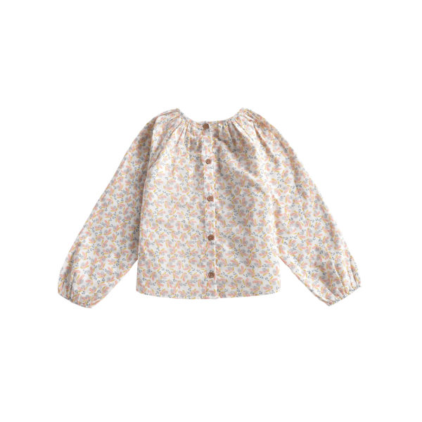 Bluse Kids Akash Cream Petals von Louise Misha