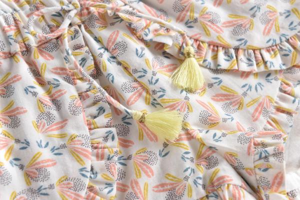 Shorts Asha Cream Petals von Louise Misha