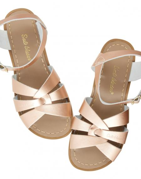 Original Kids Rose Gold von Salt Water Sandalen
