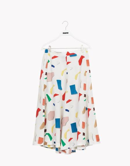 Culottes White / Multicolor von Papu