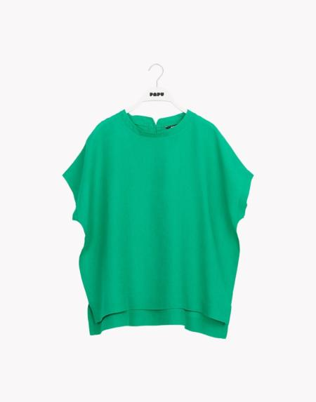 Linen Shirt Loud Green von Papu