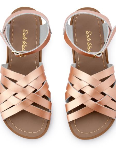 Retro Adult Rose Gold von Salt Water Sandalen