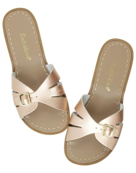 Slides Adult Rose Gold von Salt Water Sandalen