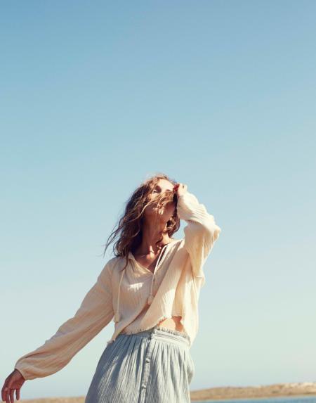 Bluse Andash Cream von Louise Misha