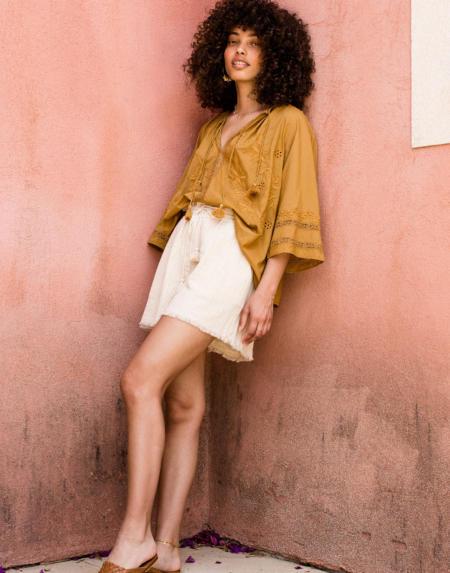 Shorts Amba Cream von Louise Misha