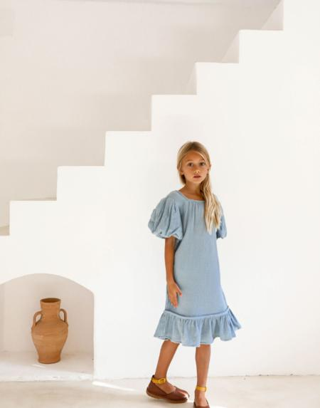 Kleid Alda Swedish Blue von Yoli & Otis