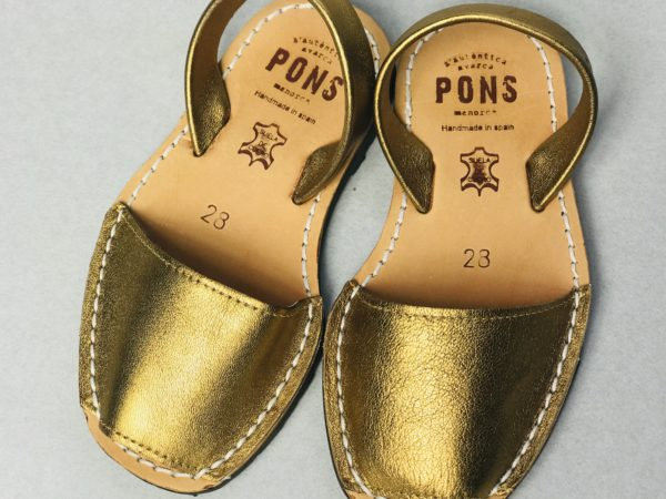 Avarca Kids Bronce von Pons