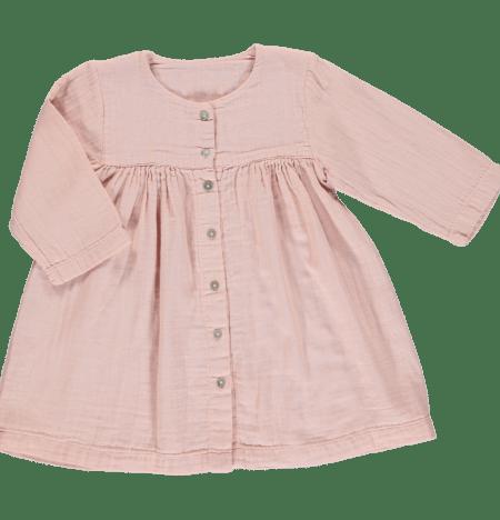 Kleid Kids Evening Sand von Poudre Organic