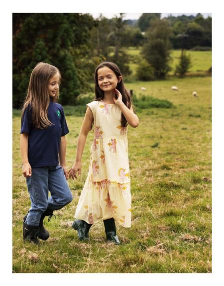 Kleid Einhorn von Mini Rodini
